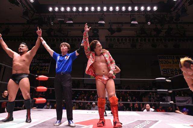 W-1: T-Hawk y Shigehiro Irie se llevan el Wrestle-1 Tag League 5